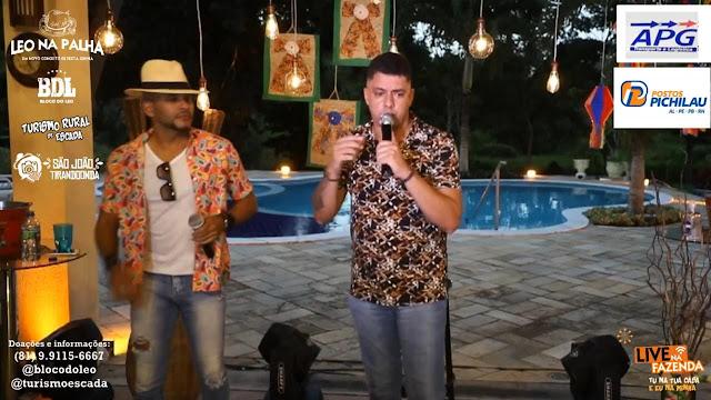 Ao Vivo: Léo na Palha reúne diversos artistas em show online com arrecadação de donativos
