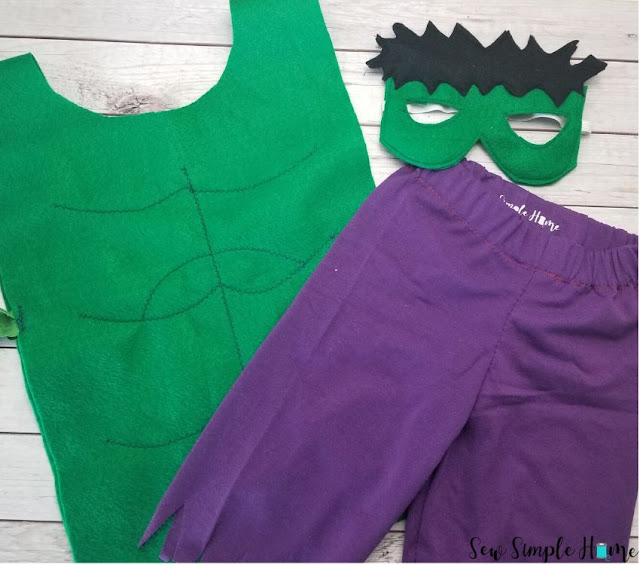 the hulk costume diy