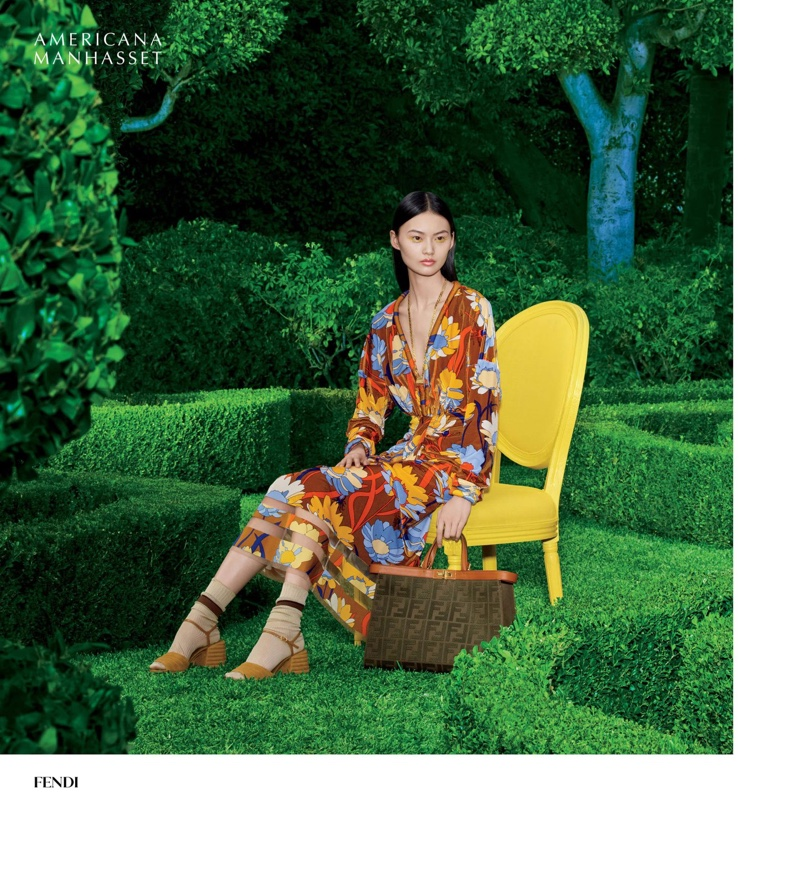Americana Manhasset Spring/Summer 2020 Campaign starring He Cong