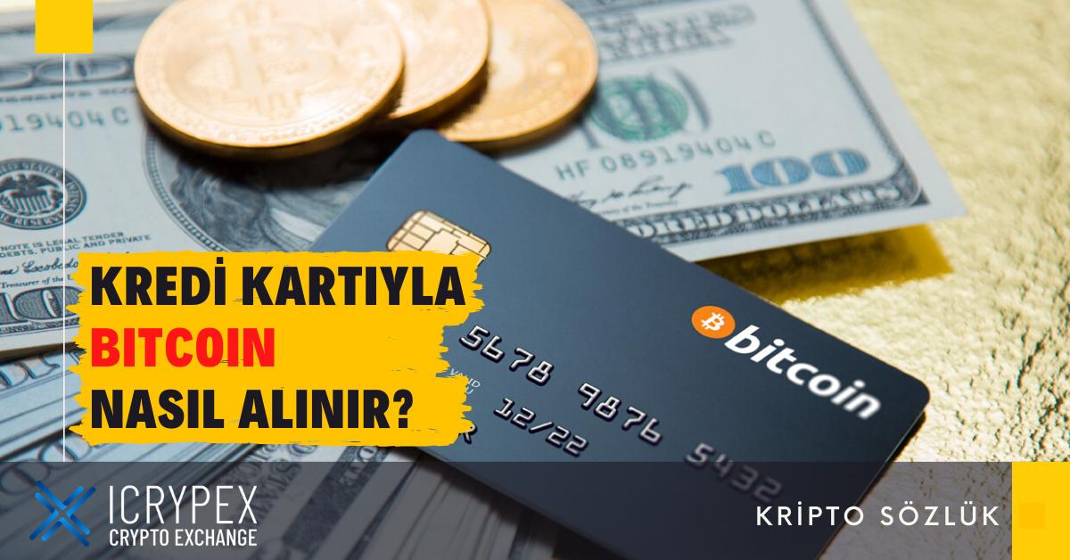 icrypex'ten kredi kartı ile Bitcoin nasıl alınır?