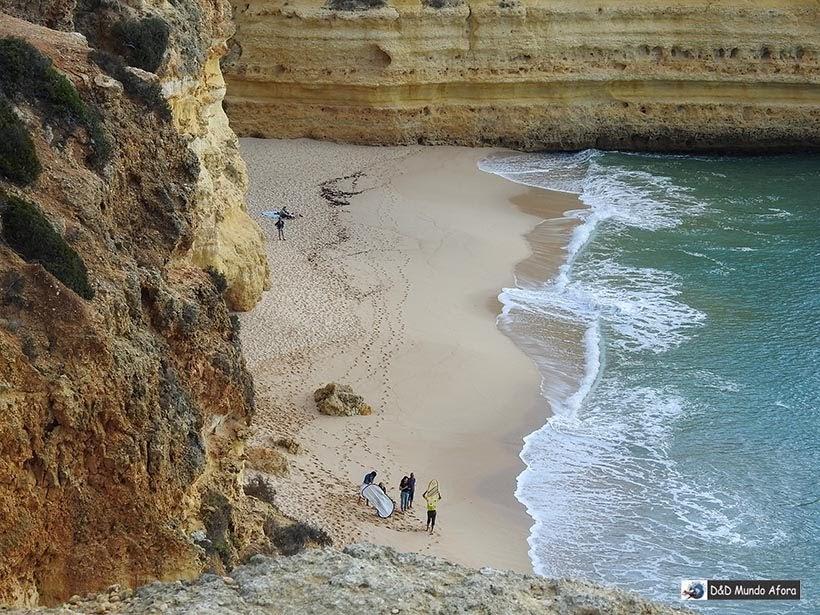 Destaque da Praia da Marinha - Algarve