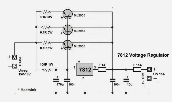 Voltage Regulator on 12 volt voltage regulator 7812