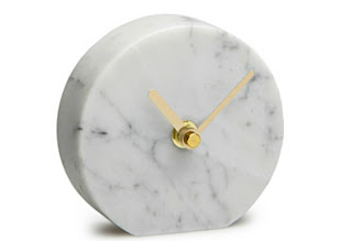 Country Road Eaton Marble Clock