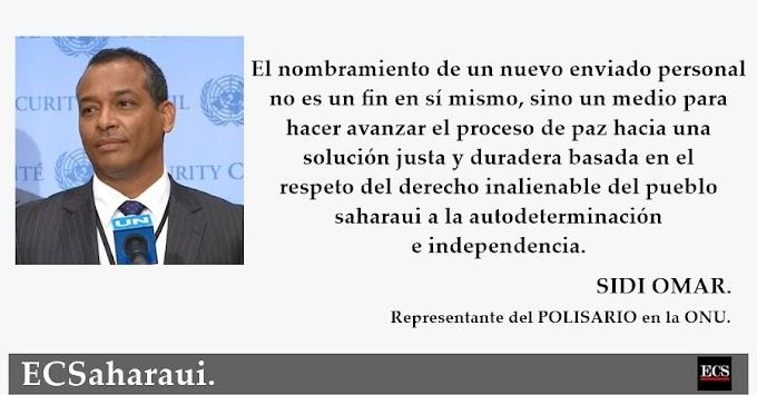 Sidi Omar: ''Esperamos que el Consejo de Seguridad de la ONU demuestre su conciencia por la gravedad de la nueva situación.''