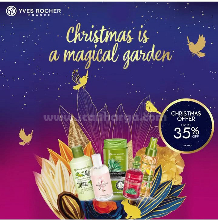 Promo Yves Rocher Christmas Offer Disc. Up To 35% Off