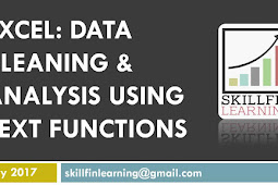 Excel: Data cleaning and analysis techniques