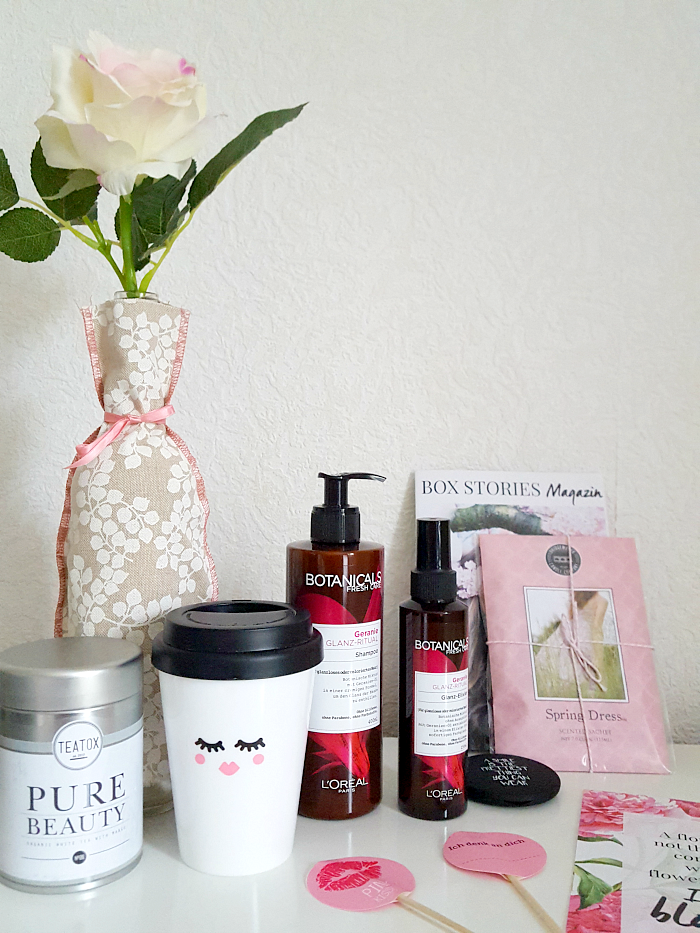 Unboxing: Box Stories by gofeminin - Just Bloom Neue Lifestyle Abo Box