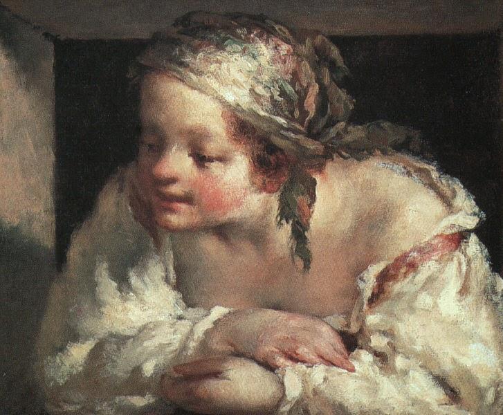 Mulher na Janela - Millet, Jean-Francois e suas principais pinturas | Realismo