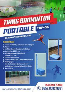 tiang badminton portable tbp-06