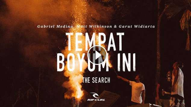 Tempat Boyum Ini TheSearch by Rip Curl