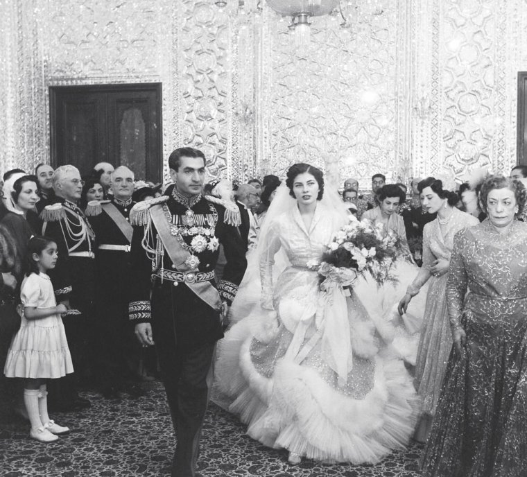 The most iconic Royal wedding dresses of all time: Queen Soraya of ...