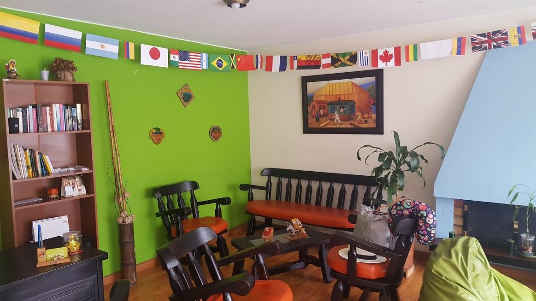 Hall do Los Andes Hostel - Bogotá