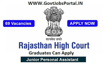 Rajasthan High Court Vacancy 2019
