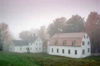 Meeting house and Ministry shop at Sabbathday Lake (Michael Freeman / Alamy Stock Photo)