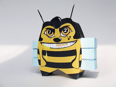 Elvis bee my calendar paper toy