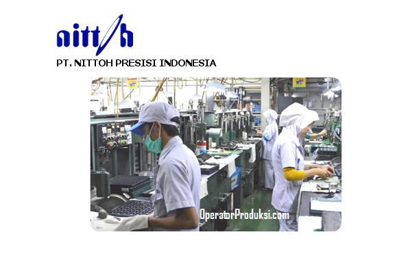 Loker PT Nittoh Presisi Indonesia (NPI) - Operator Produksi tahun 2020