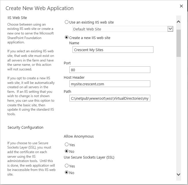 create my site host sharepoint 2013