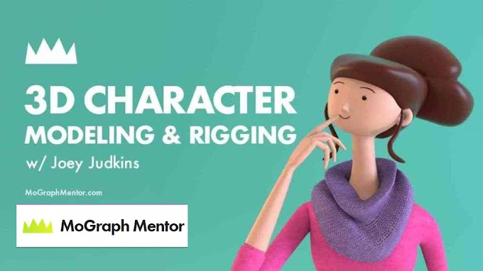 3D Character Modeling Rigging[MoGraphMentor][Cinema4D]