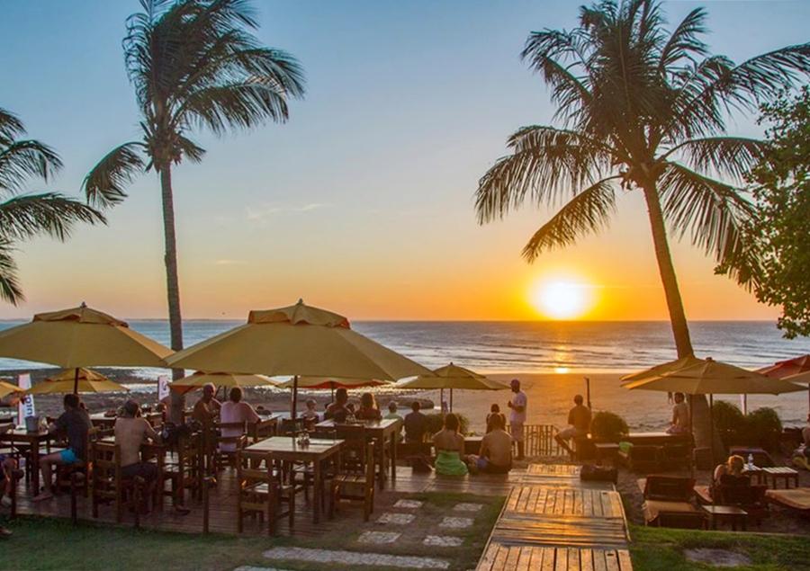 Restaurantes e Beach Clubs em Jericoacoara
