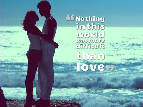 short inspirational quotes about love