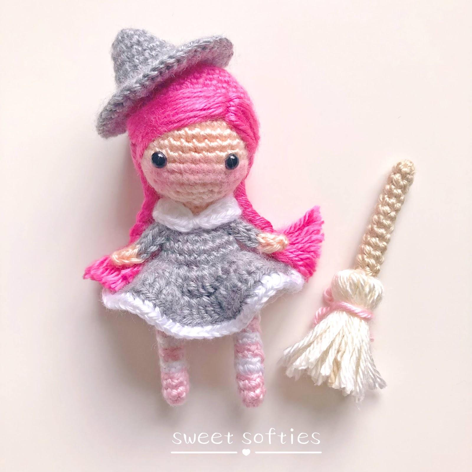 Smallish Witch Free Crochet Pattern | 1600x1600