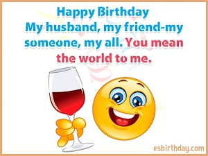 Happy Birthday Messages for Husband