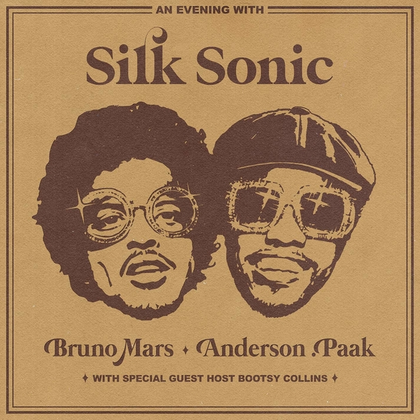 Music Television presents Silk Sonic, consisting of Bruno Mars & Anderson .Paak and the music video for their song titled Skate. #SilkSonic #Skate #BrunoMars #AndersonPaak #MusicTelevision