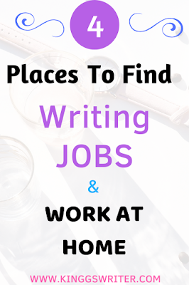 Click to find freelancing jobs and make money from home. You can find writing jobs from home using these freelance websites. Writing jobs from home extra money, make money online using these work at home jobs for beginners. #freelancing #freelancewriting