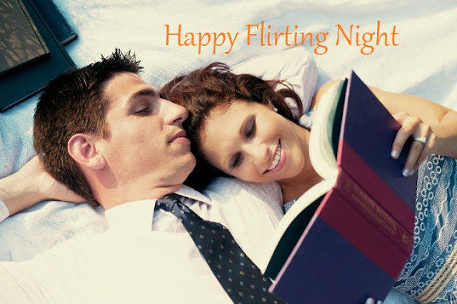 Flirting Day Good Night Whatsapp Status DP