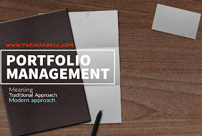 Portfolio Management meaning , traditional and modern approaches notes with examples