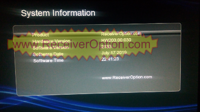 GX6605S HW203.00.030 TEN SPORTS & SERVER OPTION OK NEW SOFTWARE