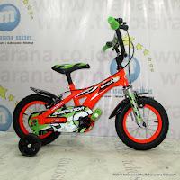 Sepeda Anak Wimcycle Agressor BMX 12 Inci