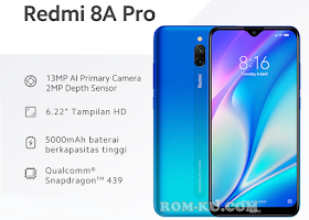 ROM MIUI 11 Xiaomi Redmi 8A Pro (Olivewood) Indonesia Stable