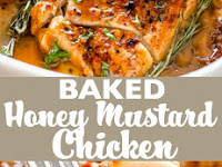 Baked Honey Mustard Chicken