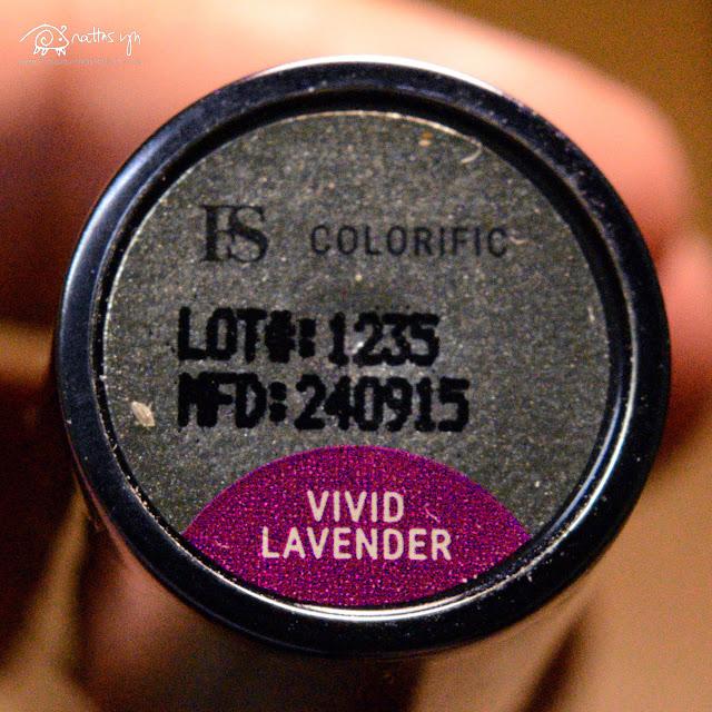 FS Cosmetics Colorific in Lavender