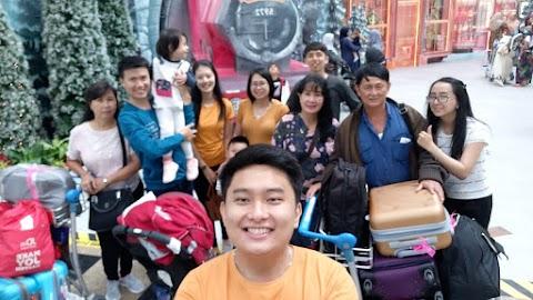 Familymoon : Trip with Keluarga Boyasah Day 2 - Singapore and Johor Bahru
