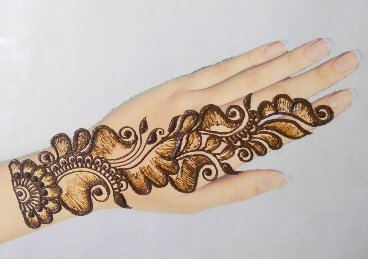 Best Simple Mehndi Design Pictures