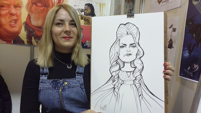 caricatures in spain