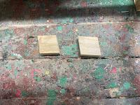 Wood spacer