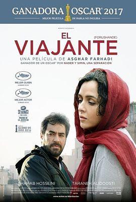 Cartel oficial español: El viajante