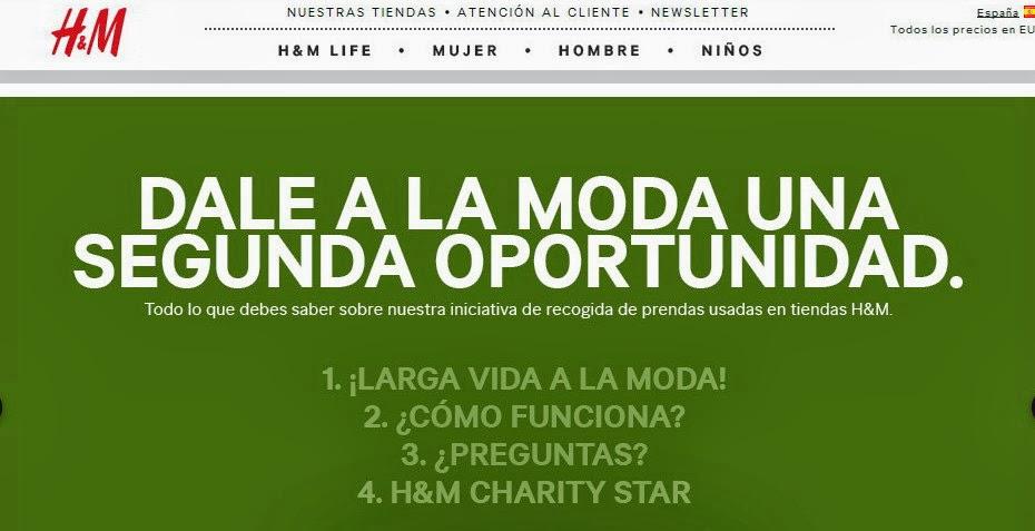 988cf06d me gusta ahorrar: H&M te da 10€ por tu ropa usada