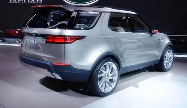 2018 Land Rover LR4 Specs