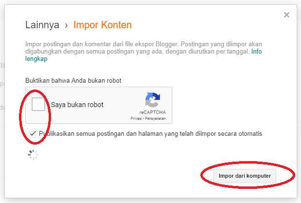 Impor Dari Komputer