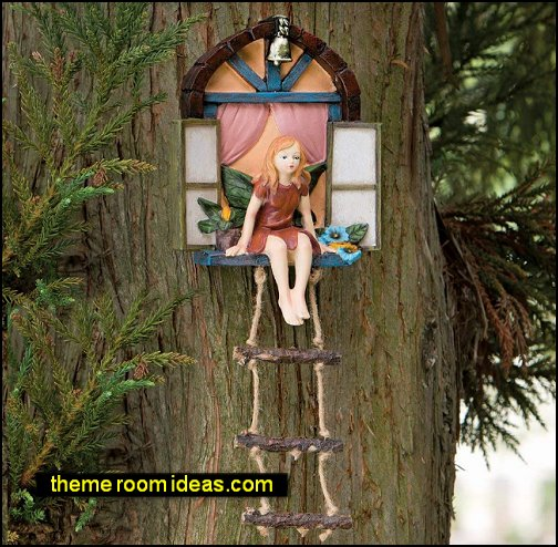 Fairy House fairy statue Elf gnome Fairy Garden Accessories – Miniature Fairies & Fairy decorations