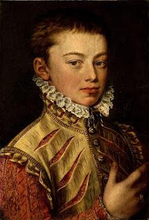 Un joven don Juan de Austria, con cara de no haber roto un plato, hasta aquel momento.