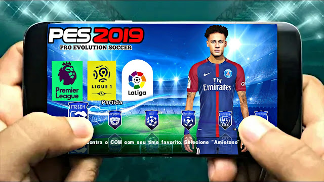 PES 2019 Android New Camera PS4 Best Graphics Offline