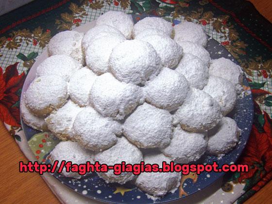 Κουραμπιέδες πολυτελείας με συνταγή από ζαχαροπλαστείο