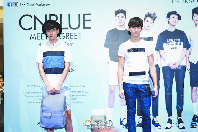 CNBLUE x THE CLASS MALAYSIA Fashion Show: Casual Wear