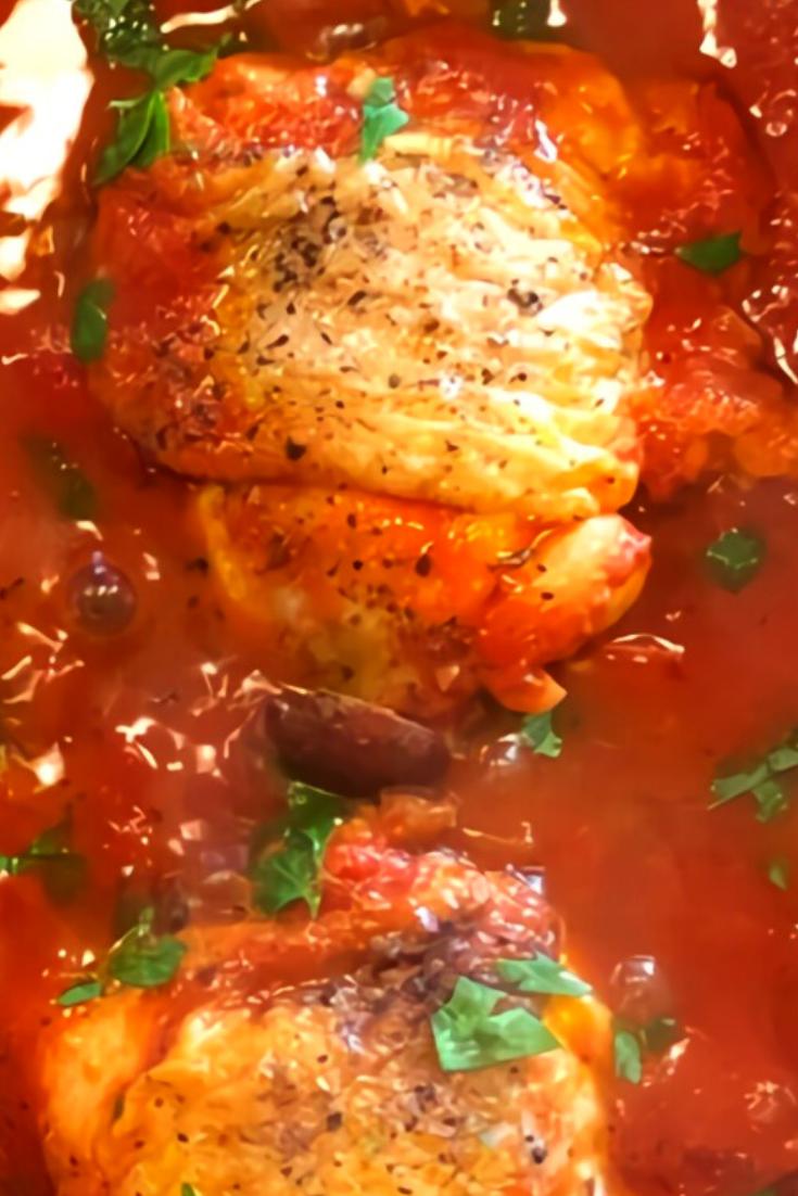 Chicken Recipe Puttanesca