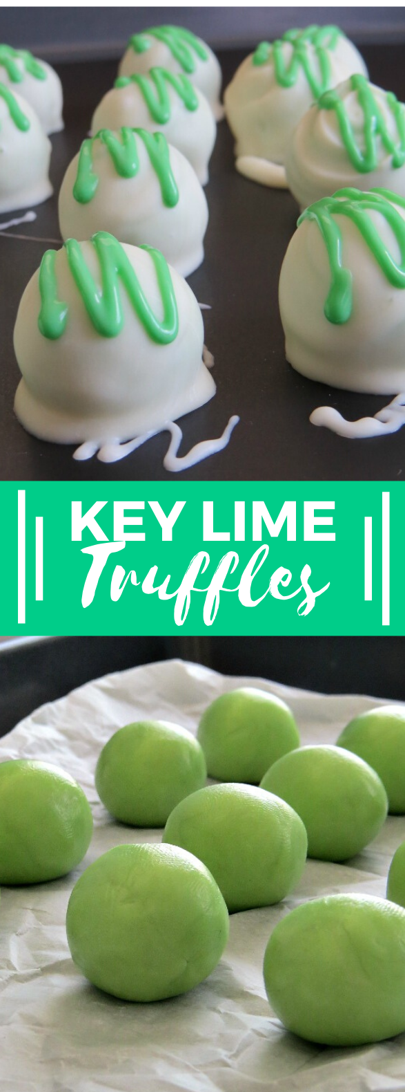 KEY LIME TRUFFLES RECIPE #desserts #simplerecipes